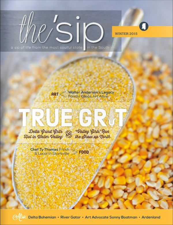 COVER of Winter 2015 Issue of the 'sip magazine