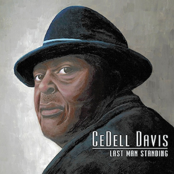 "Cover of CeDell Davis newest CD ""Last Man Standing"""