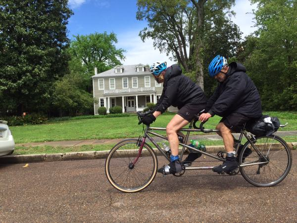 Santana Tandem Cycles in Mississippi Delta again!