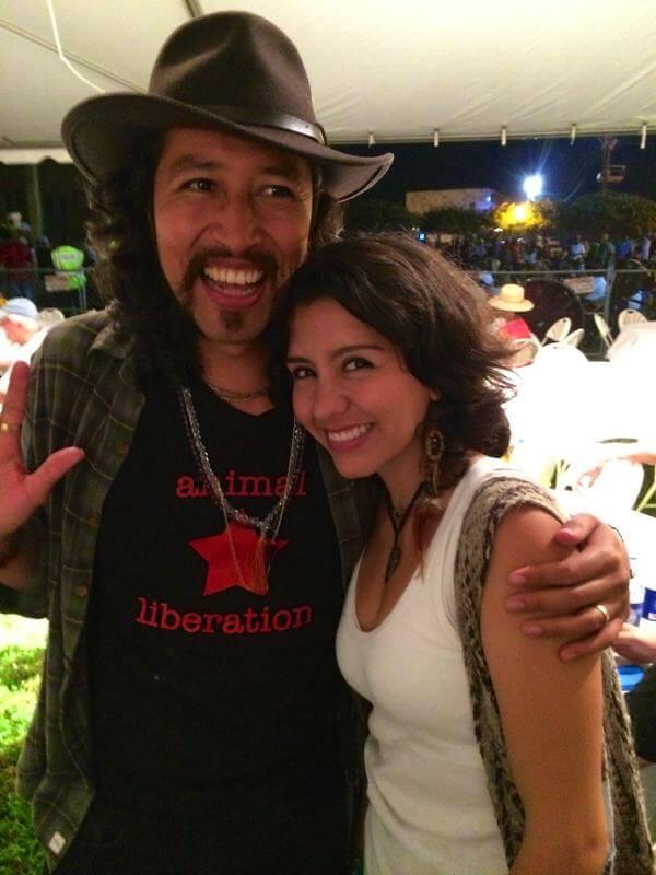 Alejandra Aristizabal  >> Carlos Elliot Jr And Wife Alejandra Aristizabal At Sunflower