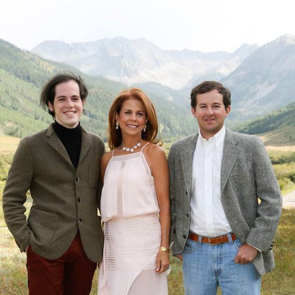 Filmmaker Mims Graeber, Pryor Buford Lampton, Lewis Graeber at Aspen Wedding