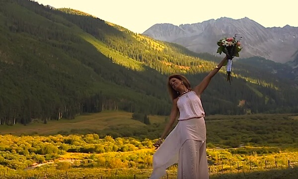 Pryor Buford Lampton still from Aspen Wedding film by Mims Graeber