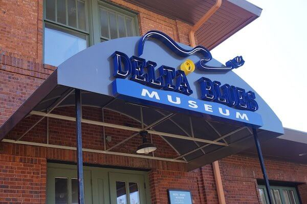 Delta Blues Museum in Clarksdale. Photo by Andrea Vlonk