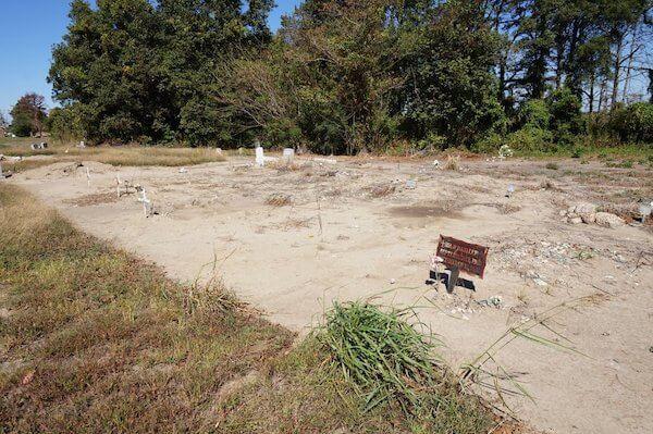 Tutwiler Cemetery seen seen on Delta Bohemian Tour. Photo by Andrea Vlonk