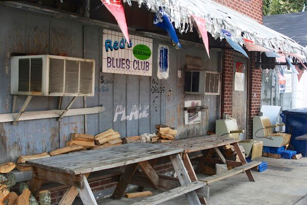 Red's Blues Club in Clarksdale, a live music venue.