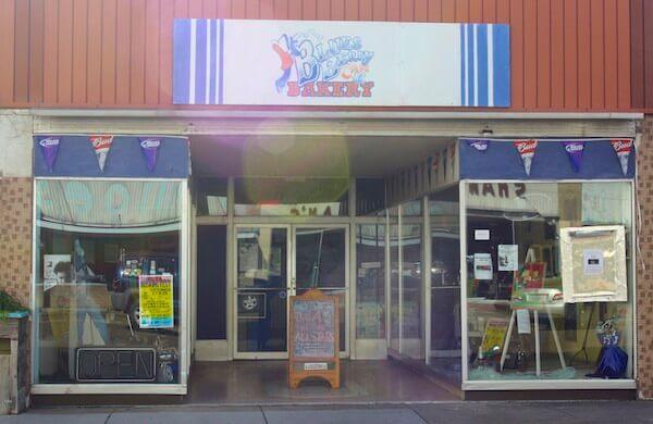 Bluesberry Cafe in Clarksdale, a live music venue.