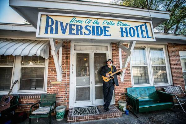 The Riverside Hotel. Photo by Mick Kolassa