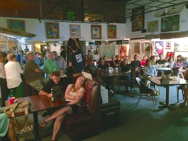 Hambone Art and Gallery in Clarksdale, a live music venue.