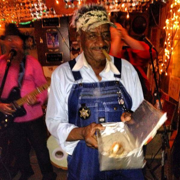 Mr. Willie Seaberry, aka Po Monkey, was a jokester. Photo by The Delta Bohemian®