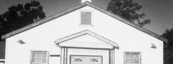 Mt. Zion Missionary Baptist Church in the Belen Community in Quitman County, Mississippi