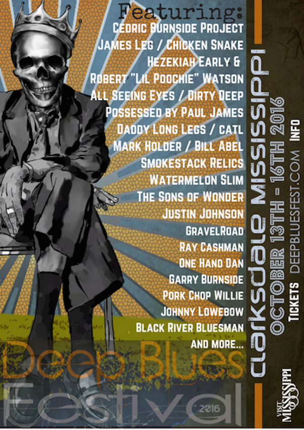 DEEP BLUES: Alternative Blues Festival in Clarksdale