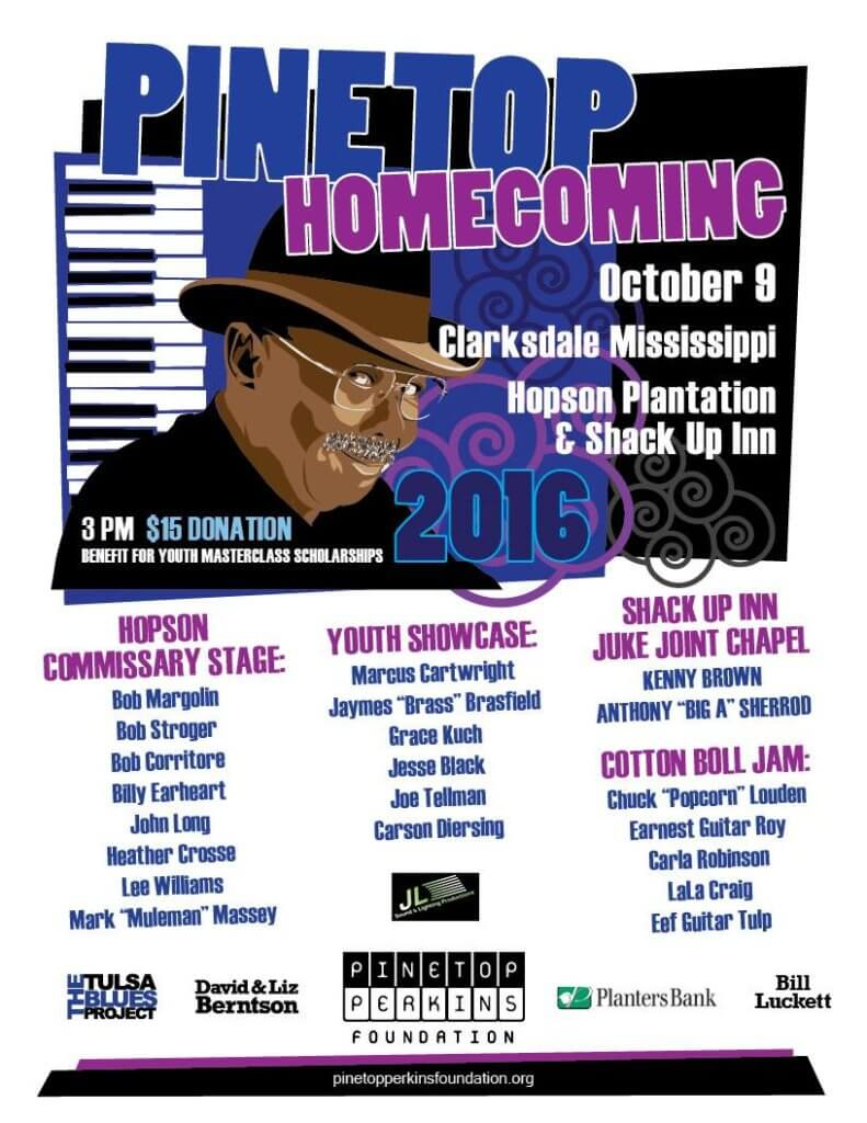 Pinetop Homecoming in Clarksdale