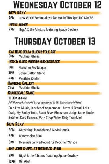 Deep Blues Fest in Clarksdale. MISSISSIPPI DELTA MUSIC CITY