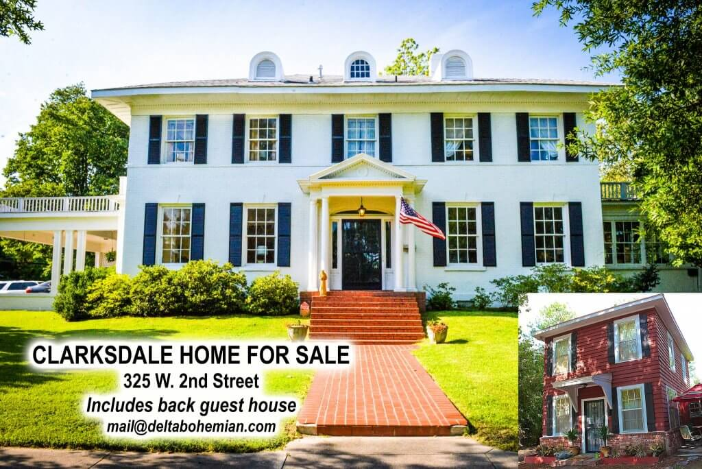 Clarksdale White House For Sale