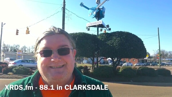 Jimmy Hughes tunes his dial to 88.1 XRDSfm