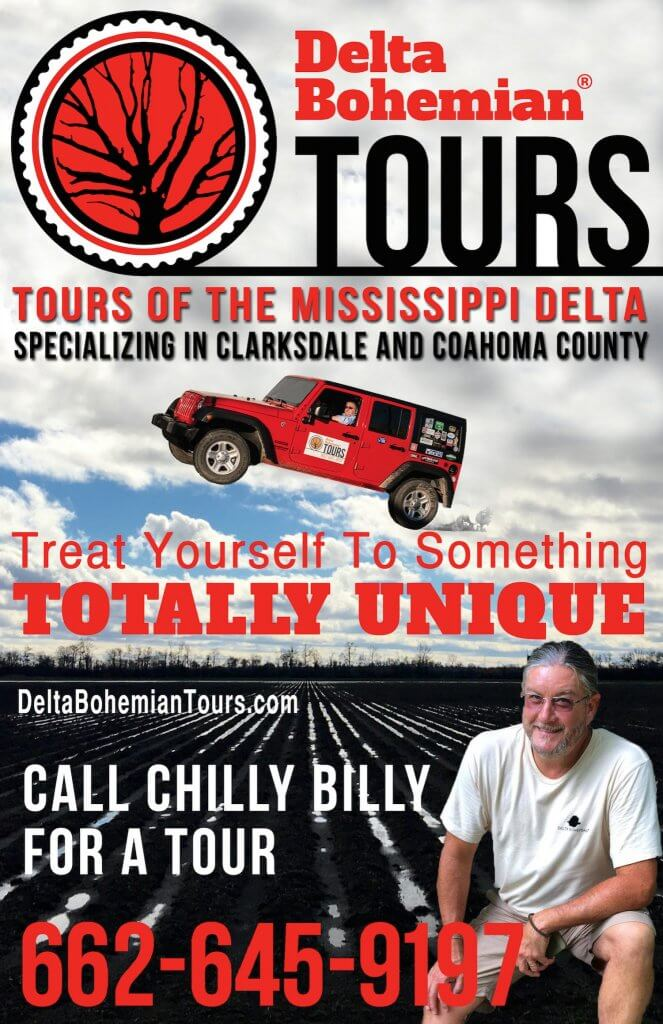 Delta Bohemian Tours is one of the Top 10 Things to do in Clarksdale