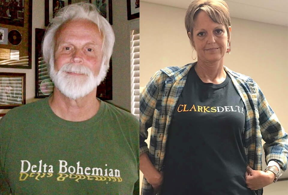 Delta Bohemian and CLARKSDELTA T-Shirts