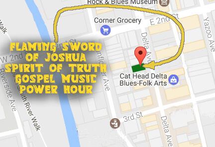 Clarksdale Gospel Music Power Hour location at Delta Avenue Park