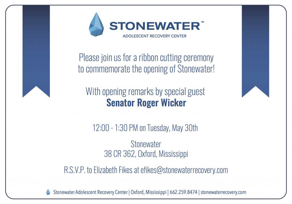 Senator Roger Wicker to address Teen Substance Abuse