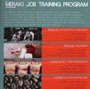 Meraki Roasting Company and Meraki Job Training Program in Clarksdale