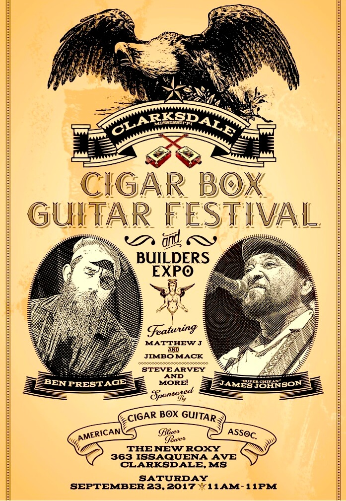 Cigar Box Guitar Festival - Sounds Around Town in Clarksdale