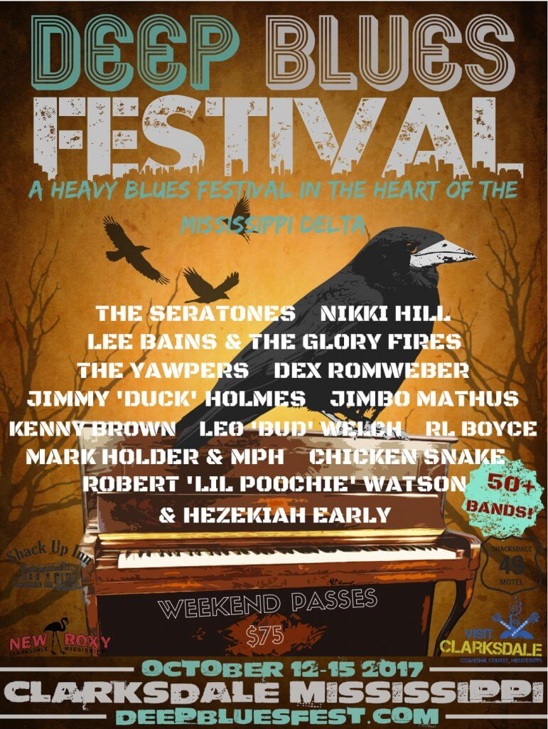 Deep Blues Festival - Sounds Around Town in Clarksdale