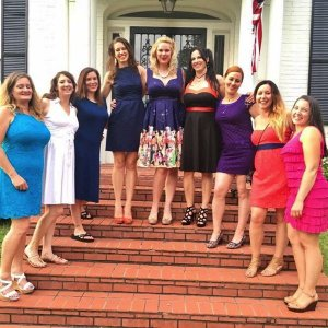 Bachelorette Party at Clarksdale White House - they met Deak Harp and got a performance