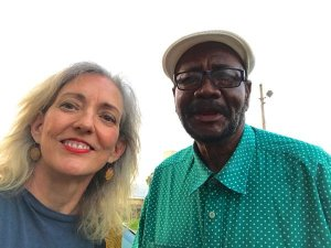 Clarksdale Taxi Cab Driver Roosevelt Noah with Magical Madge Marley Howell