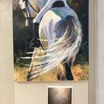 Equine oil painting by artist and art teacher Carol Roark.