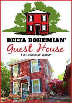 Delta Bohemian Guest House in Clarksdale