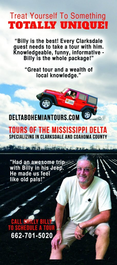 Delta Bohemian Tours Top 10 Things to do in Clarksdale