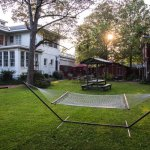 The back yard of the Clarksdale White House and Delta Bohemian Guest House. Photo by Rory Doyle