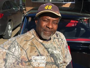 """Big J"" Milton Johnson, native of Cleveland, Mississippi"