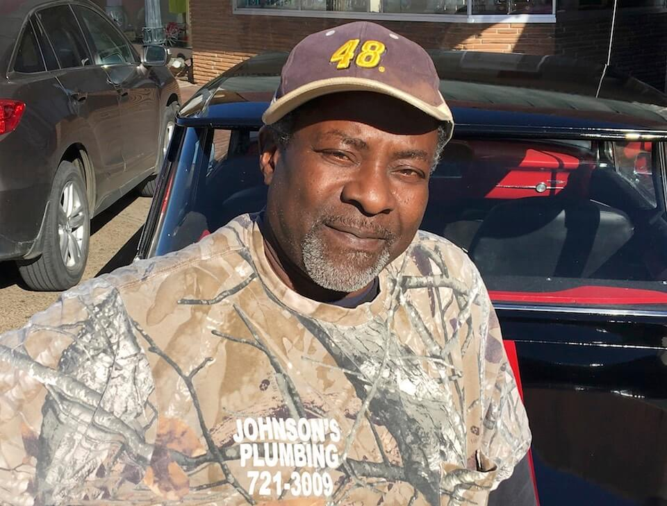 Big J Milton Johnson owner of Johnson Plumbing in Cleveland, Mississippi
