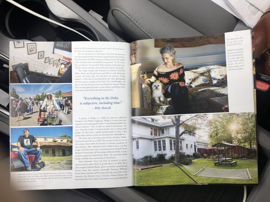 Legends Magazine features Delta Bohemian Tours and other businesses in Clarksdale