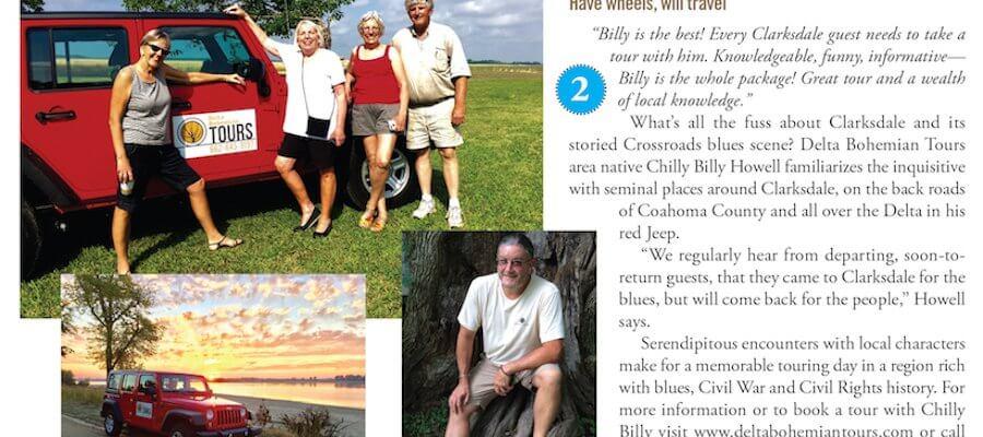 HOT TOPICS in Delta Magazine