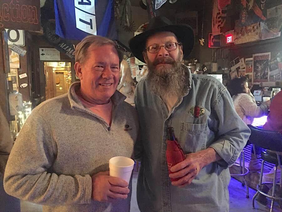 Hopson Commissary owner James Butler and Robert Birdsong