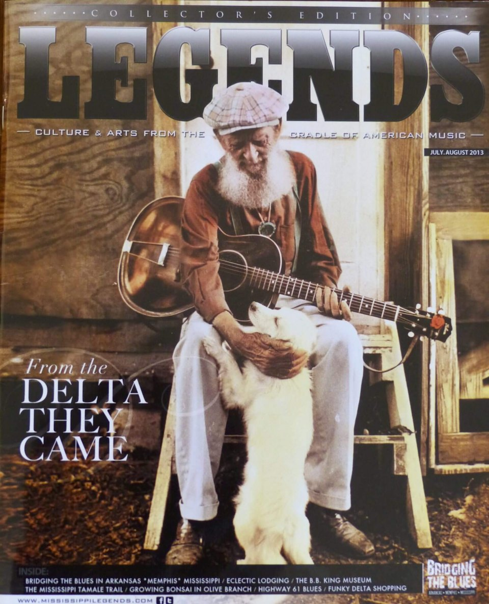 Delta Eclectic Lodging featured in Legends Magazine