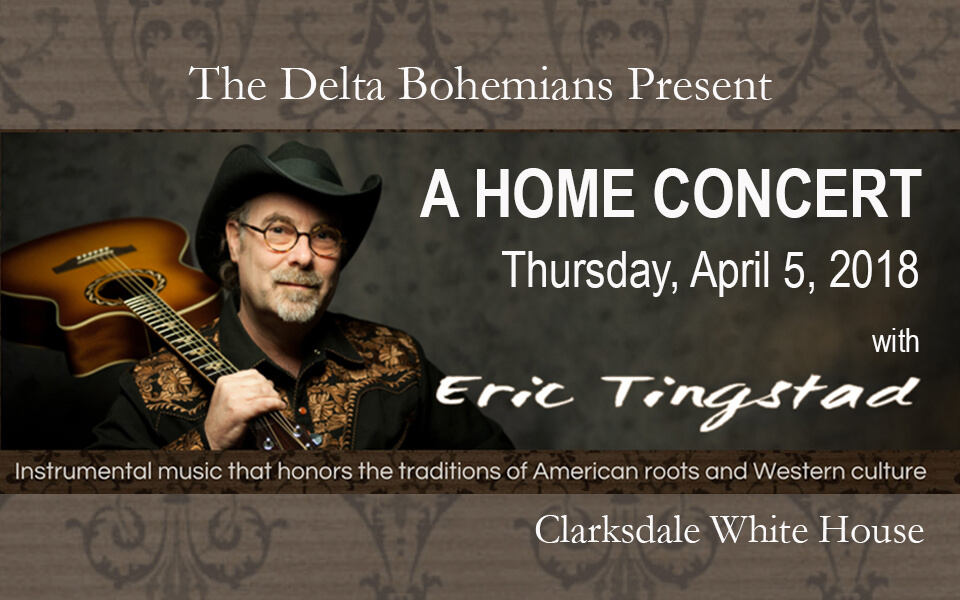 Eric Tingstad Home Concert at Clarksdale White House