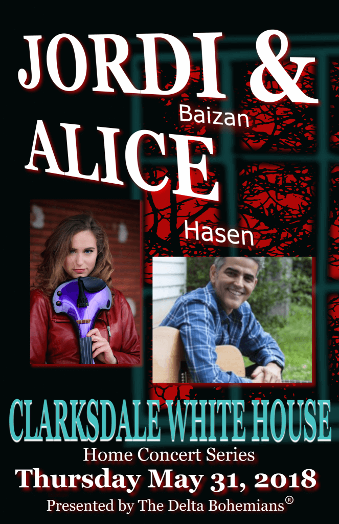 Jordi Baizan Home Concert with Alice Hasen