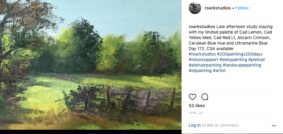 200 plein air paintings in 200 days