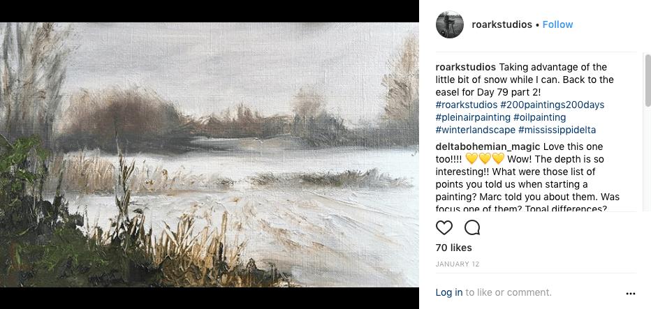 200 plein air paintings in 200 days