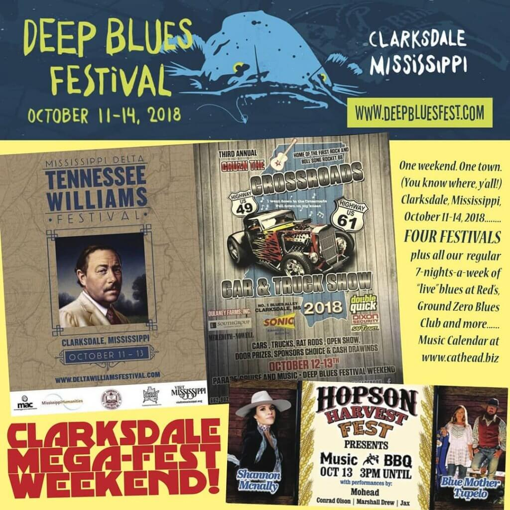 MEGA-Fest Weekend in Clarksdale