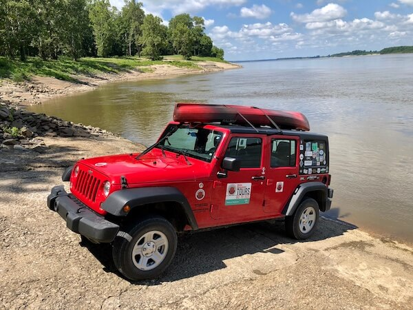 Riparian Agrarian Prelapsarian Chilly Billy's Delta Bohemian Tour Jeep