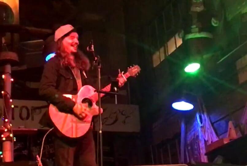 Musician Caleb Elliott