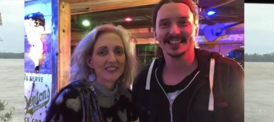 Madge Howell and musician Caleb Elliott