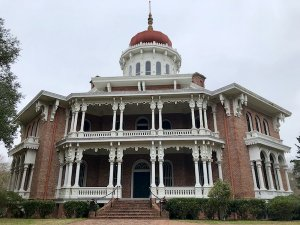 Visit Natchez to see the unfinished dream home called Longwood.