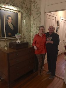 Elodie Pritchartt and Tommy Polk in Natchez.