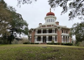Visit Natchez and see Longwood, the unfinished dream home.