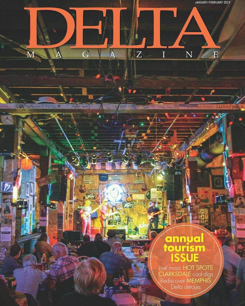Delta Magazine Annual Tourism Issue cover by Austin Britt